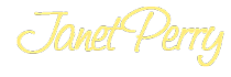 JANET PERRY Logo